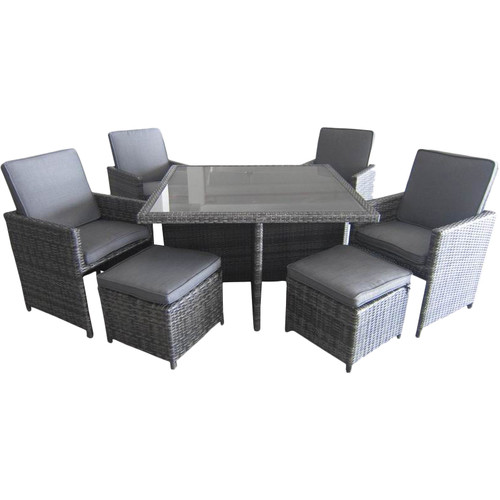 Creative Living Allison 9-Piece Dining Set