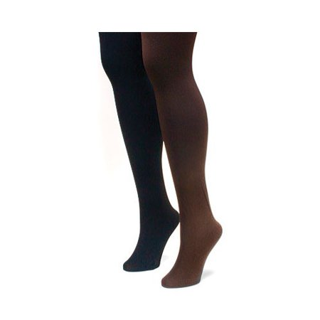 Women's Fleece Lined 2-Pair Pack Tights