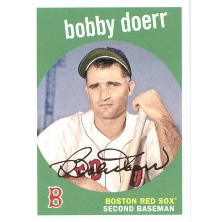 2018 Topps Archives #49 Bobby Doerr Boston Red Sox Baseball Card ()