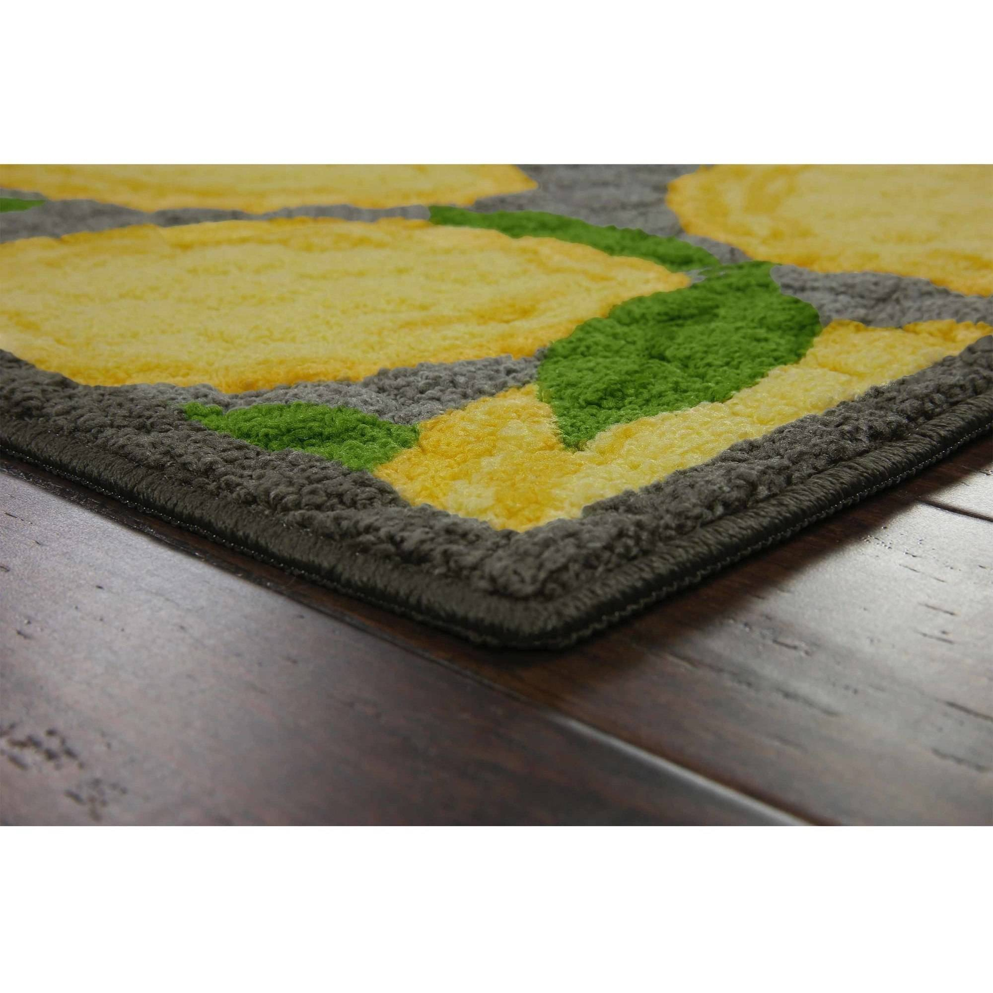 lemon kitchen rug - rugs ideas
