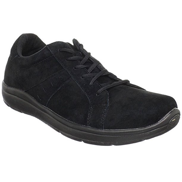 Men's Propet NOLLIE Lace Up Sneakers BLACK 11 (3E)