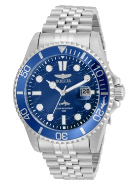Invicta Pro Diver Men's Stainless Steel Blue Dial Watch - Model 30610
