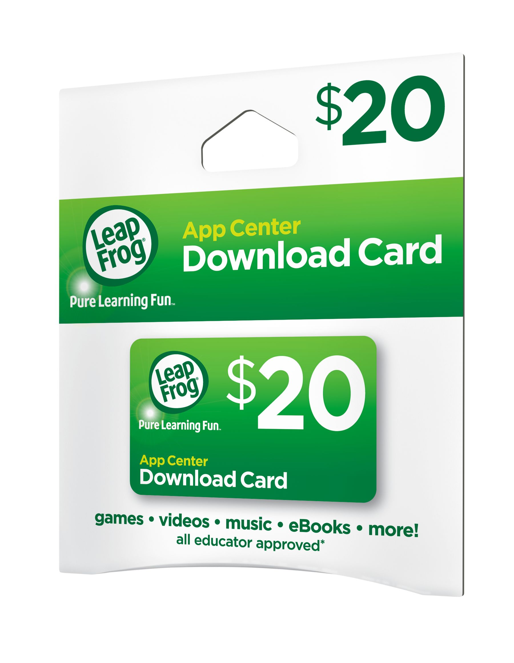 LeapFrog App Center Download Card - Walmart com