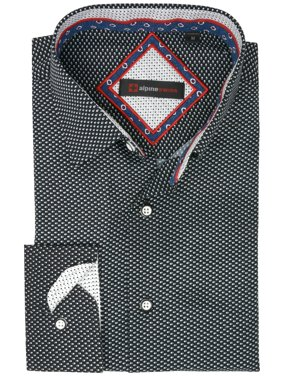 4763d4ad Product Image Alpine Swiss Wayne Mens Long Sleeve Button Down Dress Shirt  Button Front Shirt