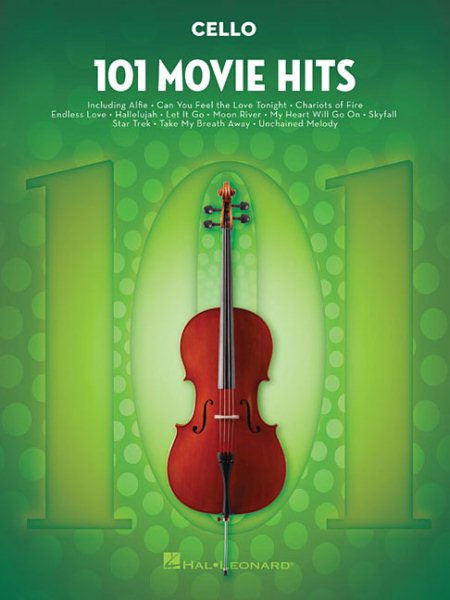 101 Movie Hits Cello by