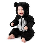 Baby Boys Girls Romper Infant Jumpsuit Unisex 3D Animal Cosplay Costume Outfit Winter Hoodie Snowsuit