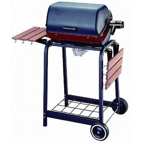 MECO Corporation Easy Street Electric Cart Grill with Wire Shelf