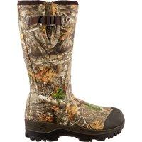 Field & Stream Men's Swamptracker 1000g RTE Rubber Hunting Boots, Realtree EDGE, 9