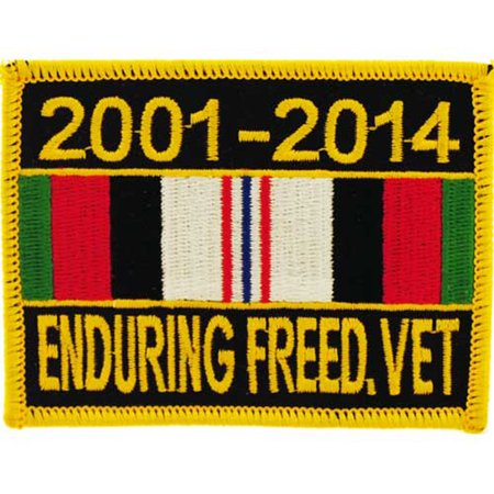 Enduring Freedom Veteran Service Ribbon - Veterans Day Ribbon