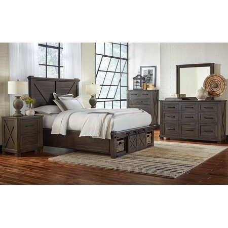 rustic king bedroom set