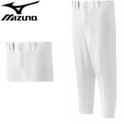 Pant, Mizuno Premier Knee Length - Hemmed - White - XS
