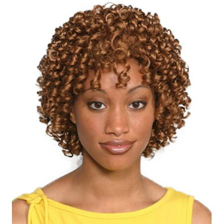 Black Long Curly Wig (Fashion women short curly Aneesa)