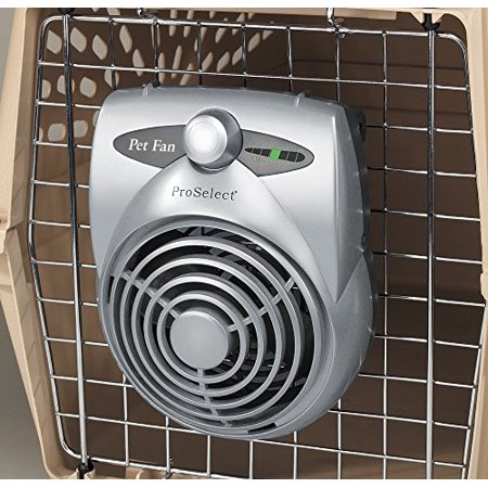 Front Fan Cage - Cool Pup Crate Fans—Innovative, Economical, and Versatile Fans Designed to Keeps Dogs and Cats Cool in Cages, Crates, or Carriers
