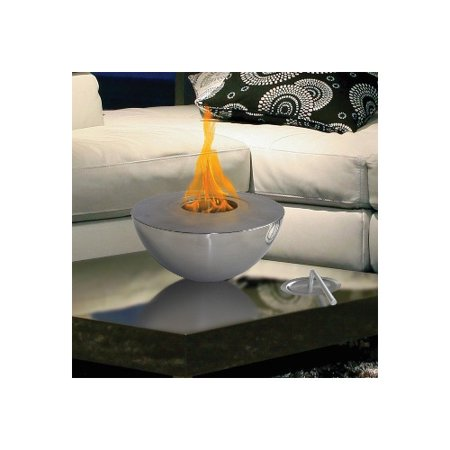Anywhere Fireplace Sutton Indoor/Outdoor Gel Fuel Tabletop Fireplace ...
