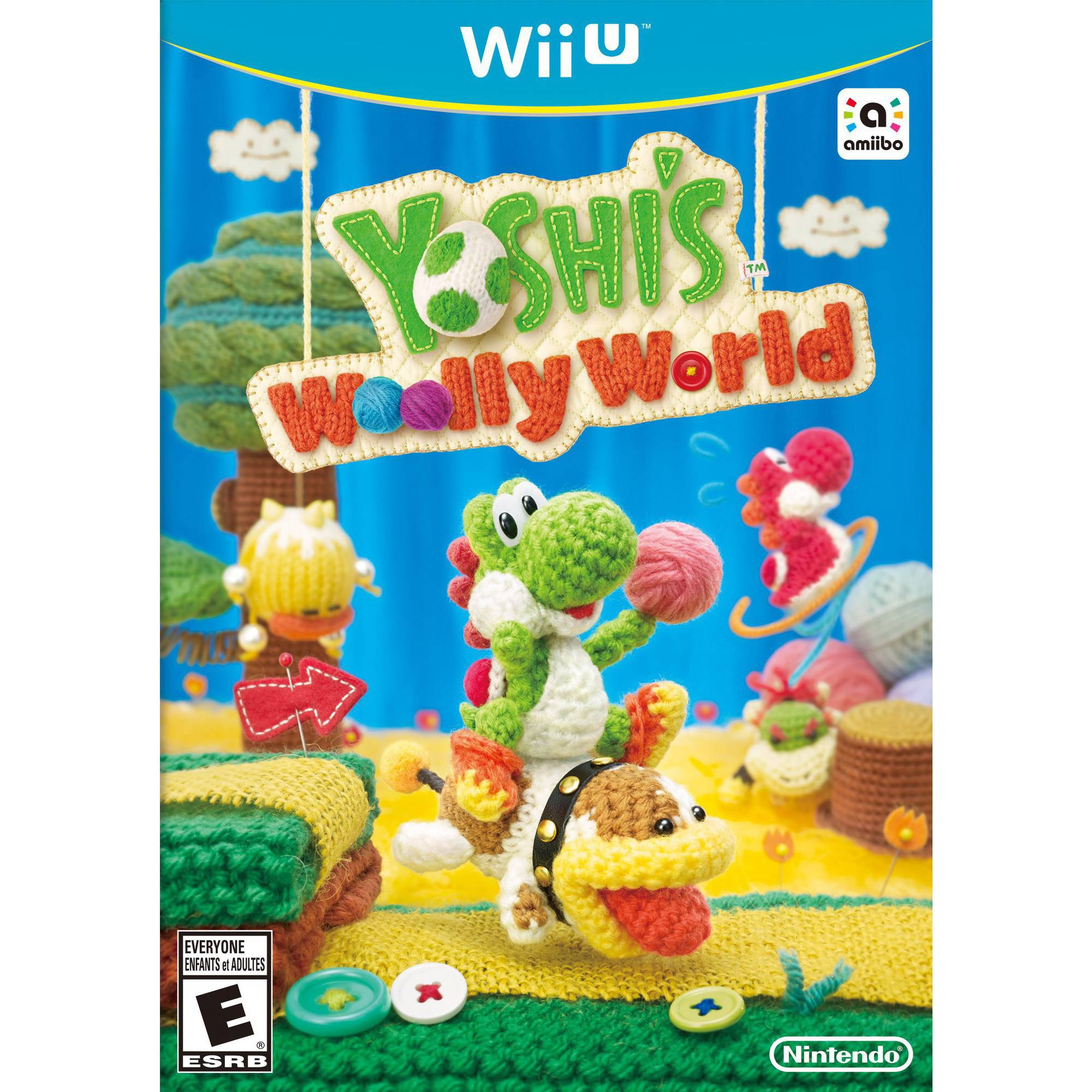 Yoshi Woolly World (Wii U)