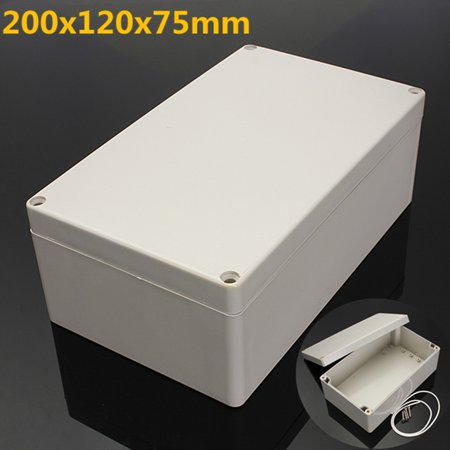 100% New Plastic Electronics Project Box Enclosure Instrument Case electronics Instrument box DIY With Screws
