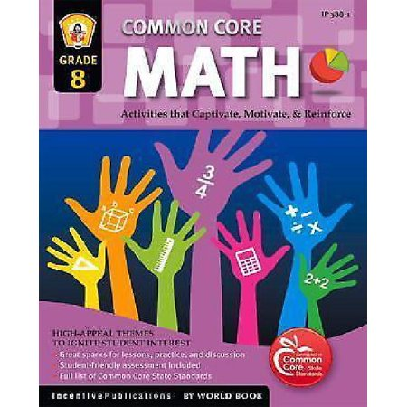 Common Core Math Grade 8: Activities That Captivate, Motivate, & Reinforce - image 1 of 1
