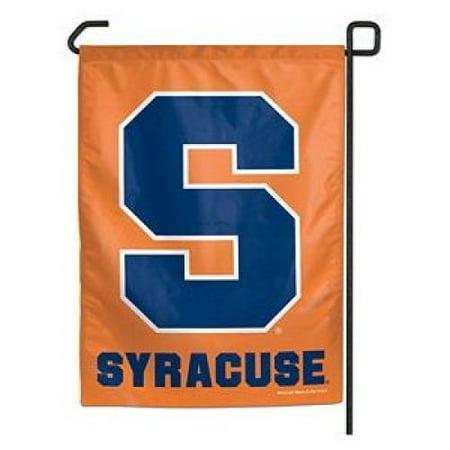 Syracuse Orangemen Garden Flag By Wincraft 11