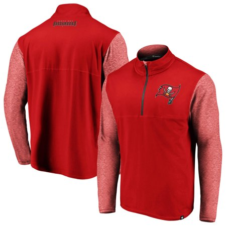 Tampa Bay Buccaneers Classic Jacket (Tampa Bay Buccaneers NFL Pro Line by Fanatics Branded Made to Move Quarter-Zip Jacket - Red )