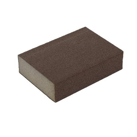 Hand Sanding Block - 100mmx70mmx25mm 1000 Grit Polishing Sanding Sponge Block Grinding Tool