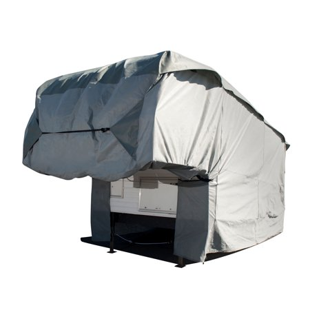 Budge Standard Truck Camper RV Cover, Basic Outdoor Protection for Truck Campers, Multiple - Outdoors Campers