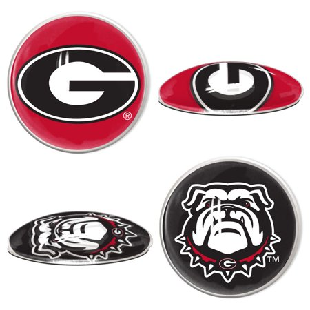 Georgia Bulldogs Official NCAA  Sport Dotts Magnet 2 Pack by Wincraft