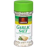 (2 Pack) Lawry's Coarse Ground With Parlsey Garlic Salt, 6 oz