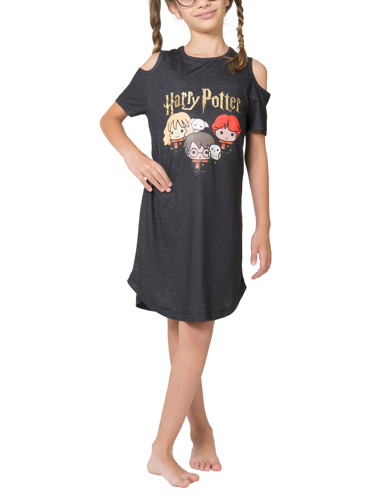Girls' Cold Shoulder Nightgown