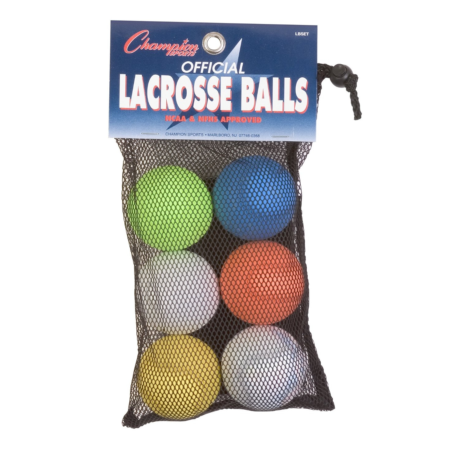 Champion Sports Official Lacrosse Balls-Pack of 12 by Champion