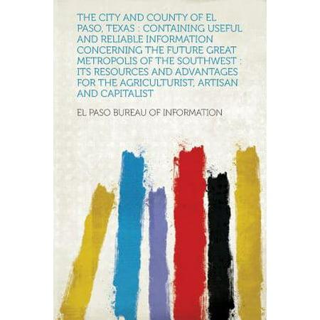 The City and County of El Paso, - Party City In El Paso Texas