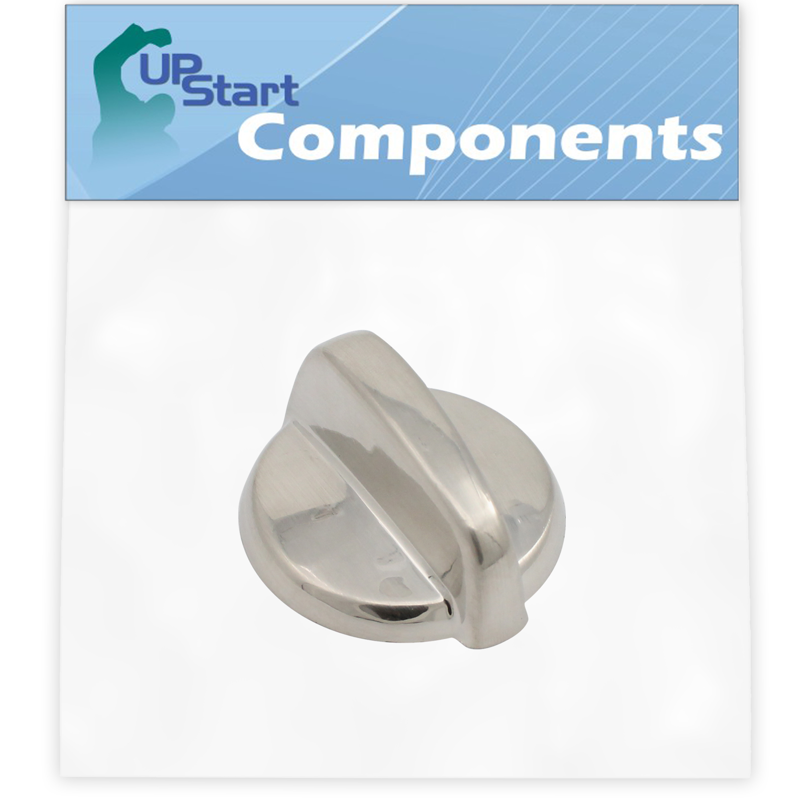 Replacement Control Knob WB03T10284 Stainless Steel Finish for General Electric JCBP800ST1SS Range - image 4 de 4