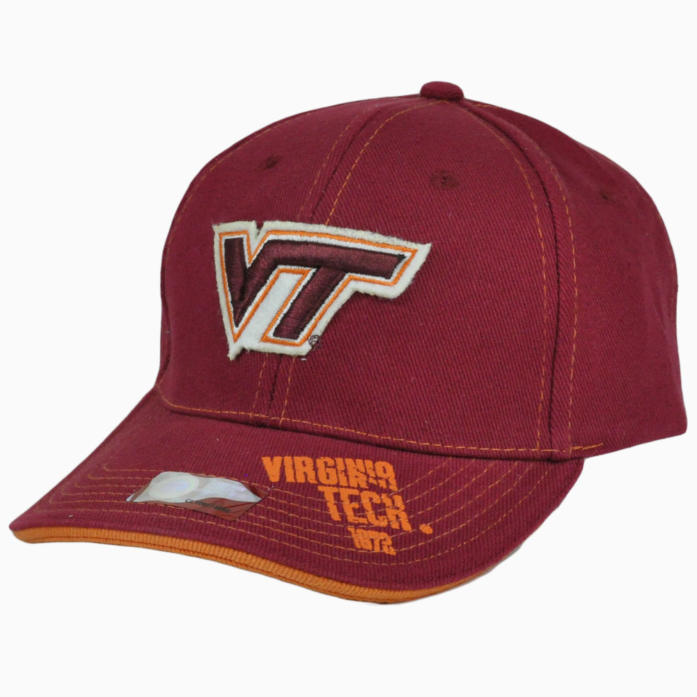new products da8ca aeab9 ... norway ncaa vt virginia tech hokies stitched splash licensed  constructed hat cap 8befc f27a8