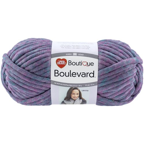 Red Heart Boutique Boulevard Yarn, Available in Mulitple Colors