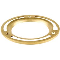 Oatey 43551 Replacement Closet Flange Ring, 4 in, Brass