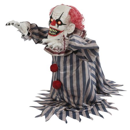Jumping Clown Prop Halloween Decoration - Scary Clown Props For Halloween