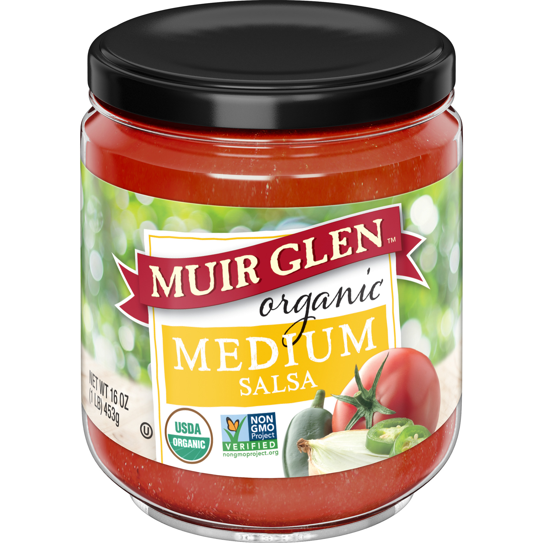 Muir Glen Organic Medium Salsa, 16 oz Can