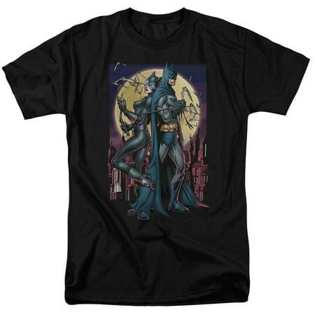 BATMAN/PAINT THE TOWN RED-S/S ADULT 18/1 - BLACK - 4X (Batman 70s)