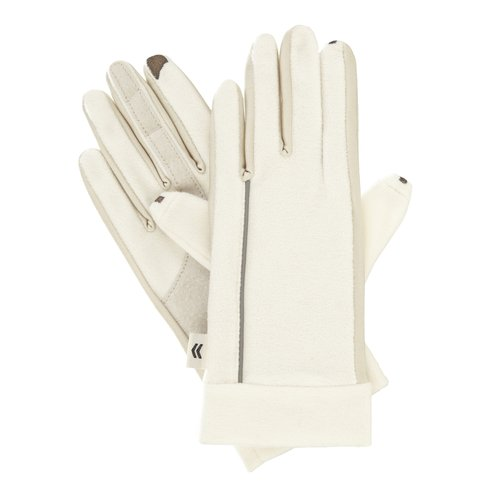 Smartouch Fleece Gloves, Ivory