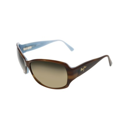 Maui Jim Women's Nalani HS295-03T Brown Butterfly Sunglasses ()