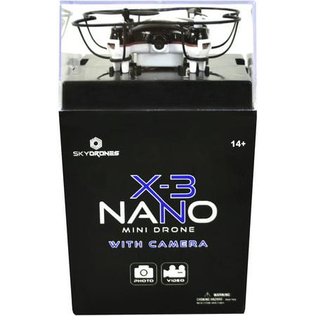Skydrones X-3 Nano with Camera Mini Drone