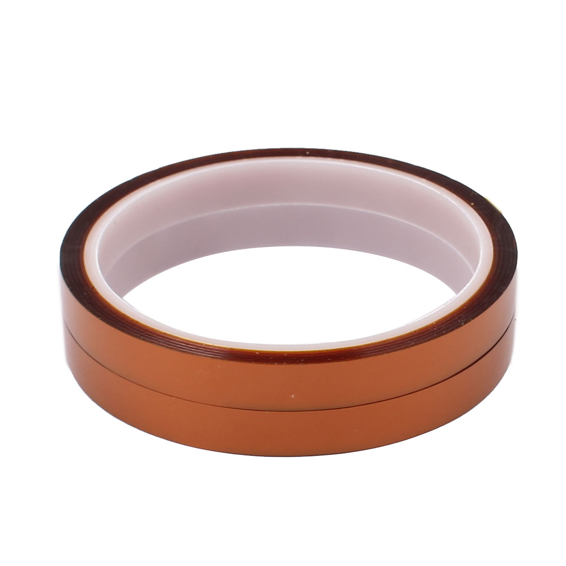 2pcs 10mm Width 30M Length High Temperature Heat Resistant Polyimide Tape