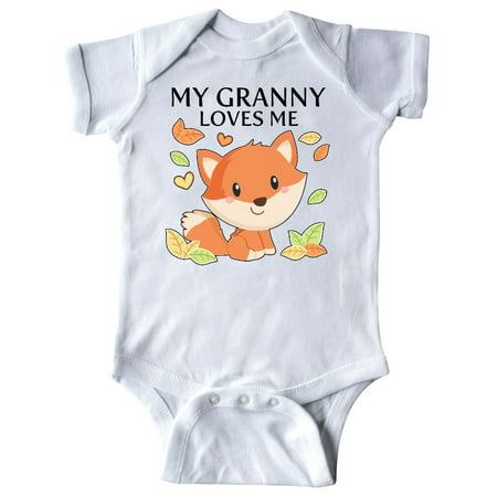 My Granny Loves Me- little fox Infant Creeper