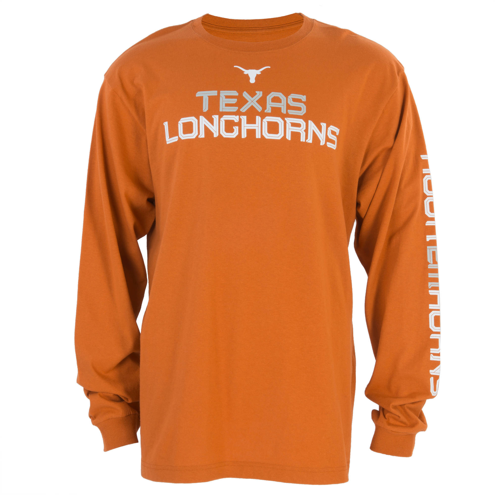 NCAA Texas Longhorns Men's Inertia Long Sleeve Tee