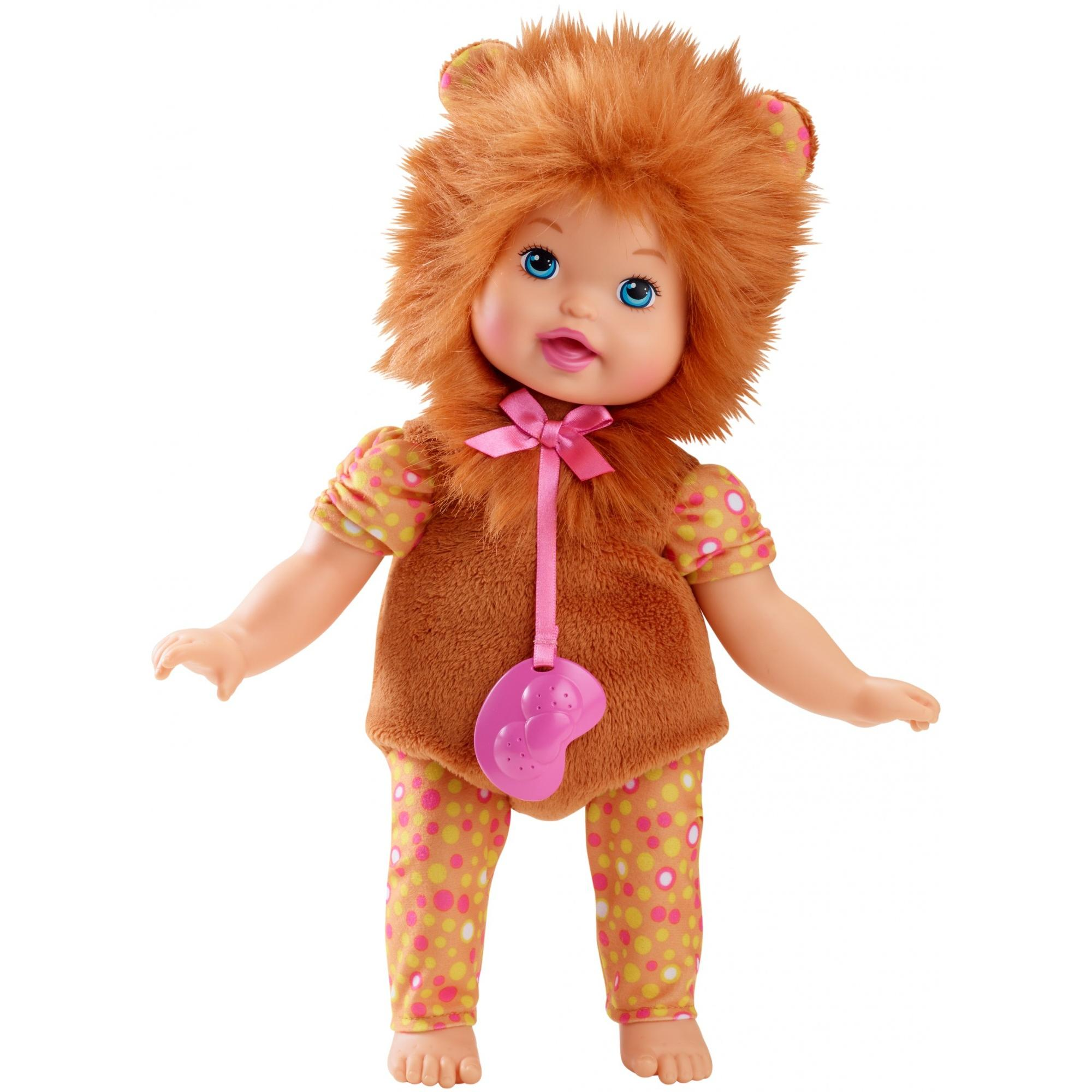 Little Mommy Dress Up Cuties Snuggly Lion Cub Doll