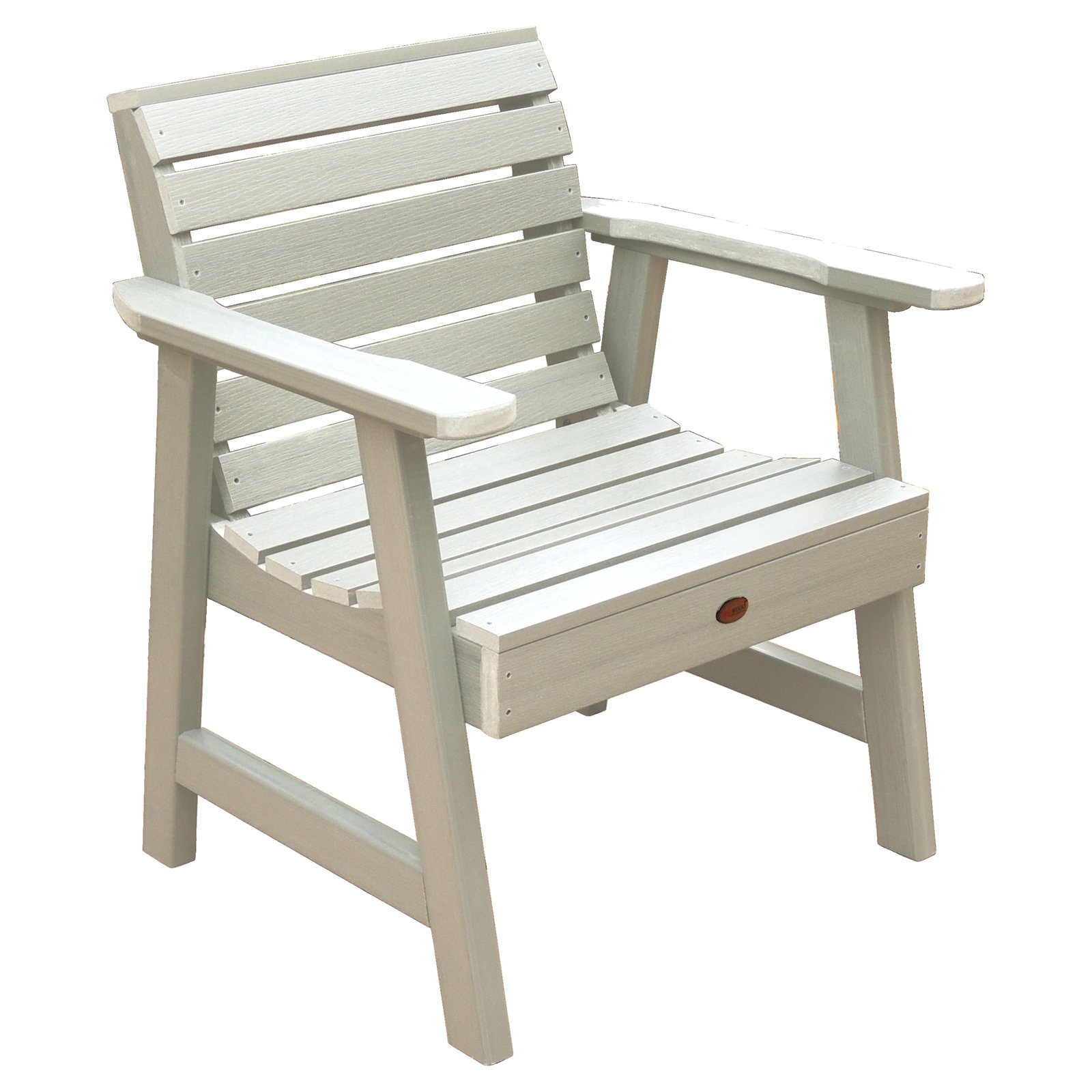 highwood® Weatherly Recycled Plastic Garden Lounge Chair
