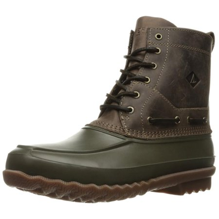 Sperry Top Sider Decoy Mens Dark Brown/Oliv Boots (Sperry For Work)