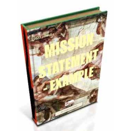 Mission Statement - Example - eBook
