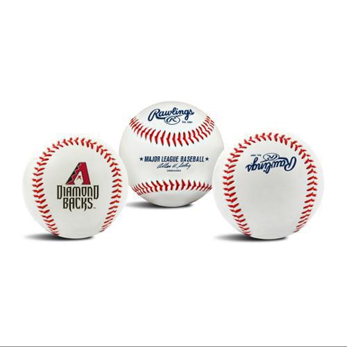 Arizona Diamondbacks Official MLB 3 inch  x 3 inch  Baseball by Rawlings