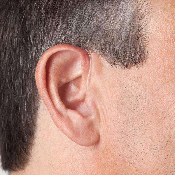 Audicus Clara Bluetooth Hearing Aid - Left Side