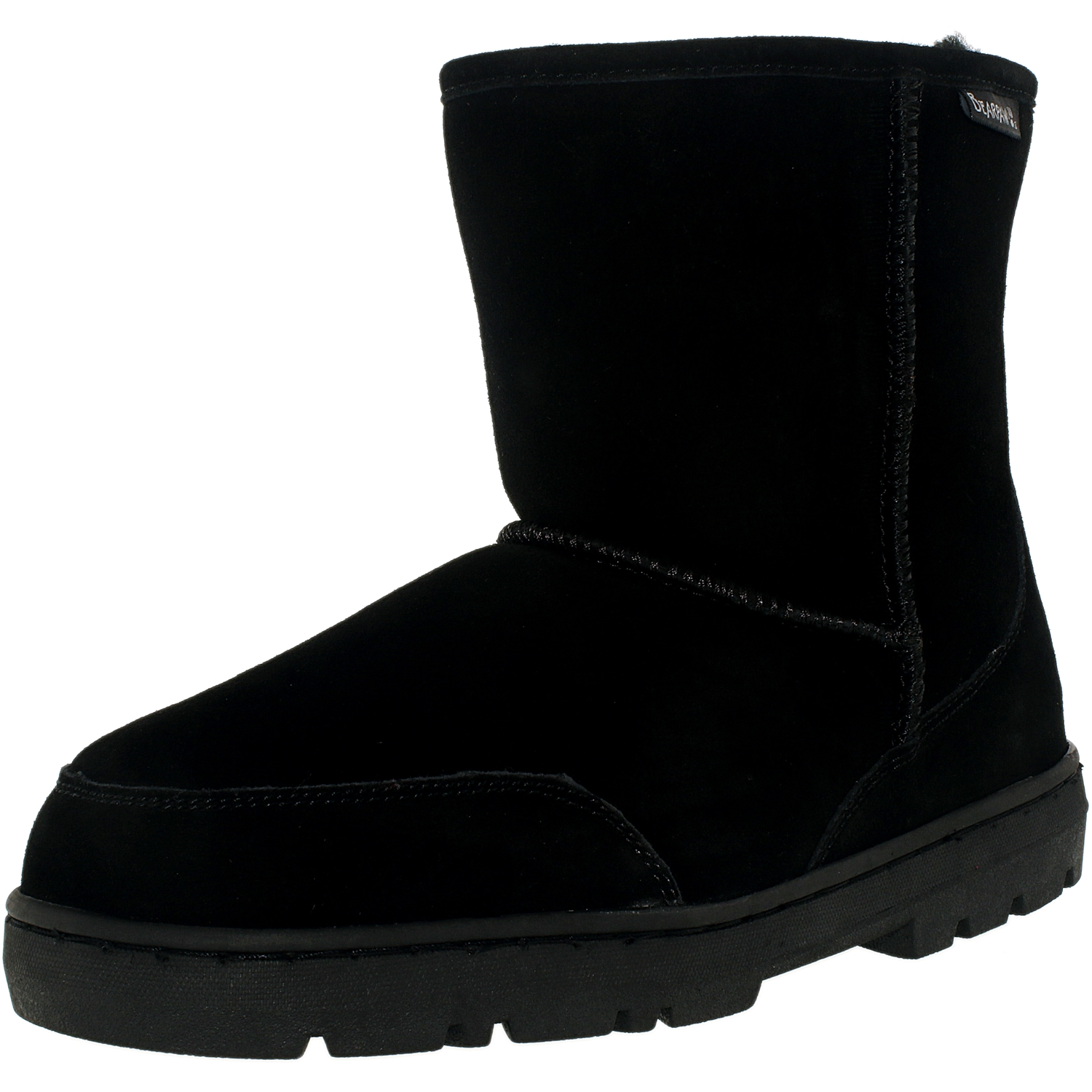 04607b37e1b3 Bearpaw Men s Patriot Black Ii High-Top Suede Boot - 11M